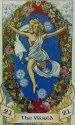 Svět, Tarot Robin Wood, velká Arkána